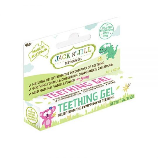 Teething gel - jack and jill