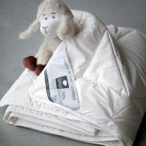 couette en laine bébé