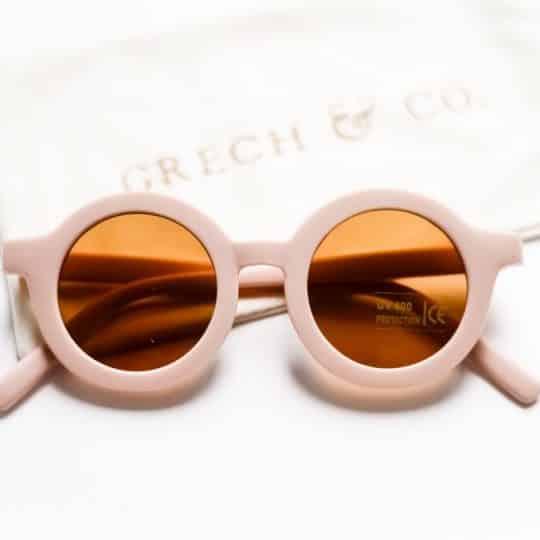 Superbe lunette de soleil en plastique recyclé