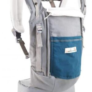 physiocarrier gris poche paon