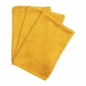 gants de toilette en bambou